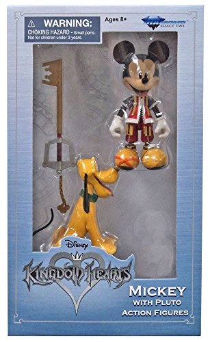 - Diamond Select Toys Disney Kingdom Hearts Mickey Mouse with Pluto (Exclusive)
