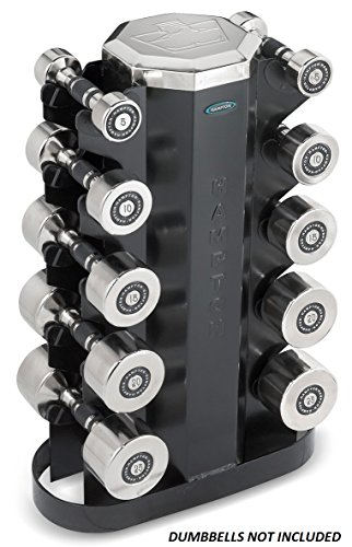 Hampton 5 Pair Vertical Dumbbell Rack by Ironcompany.com