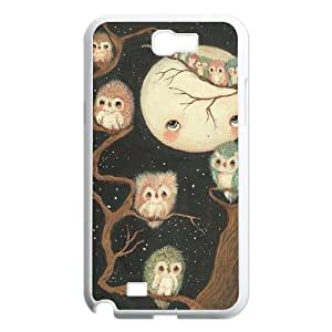 YAYADE Phone Case Of cute girl Fantasy PERFECT PATTERN For Samsung Galaxy Note 2 N7100