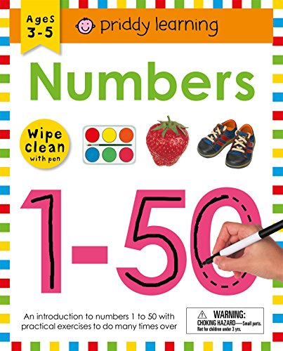 Wipe Clean Workbook: Numbers 1-50 (Wipe Clean Learning ()