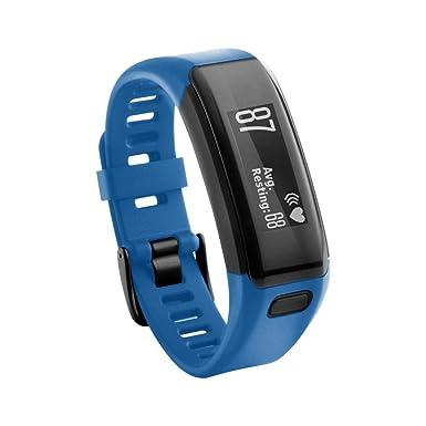 JiaMeng para Correa de Silicona, reemplazo Pulsera de Silicona Suave Pulsera Wristband para Garmin Vivosmart HR: Amazon.es: Ropa y accesorios