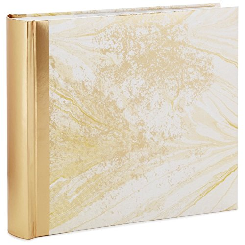 (Hallmark Marbled Gold Photo Album Photo Albums)