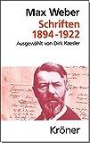 Schriften 1894-1922 (Kröners Taschenausgaben (KTA))