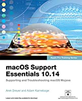 macOS Support Essentials 10.14 – Apple Pro Training Series Front Cover