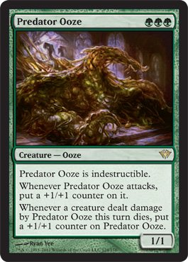 - Magic: the Gathering - Predator Ooze (124) - Dark Ascension