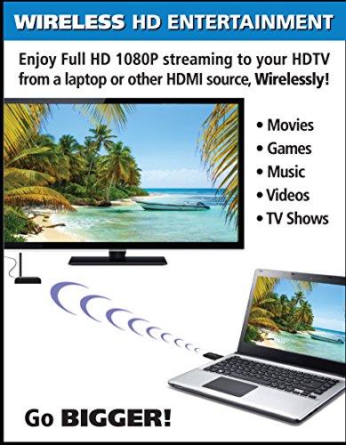 Kit, Transmitter Receiver for Stream Laptops, Satellite PS3, PS4, Xbox Xbox
