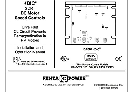 KBIC-125 (9433) DC Drives Chis on