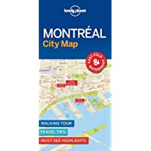 Lonely Planet Montreal City Map 1st Ed.: 1st Edition
