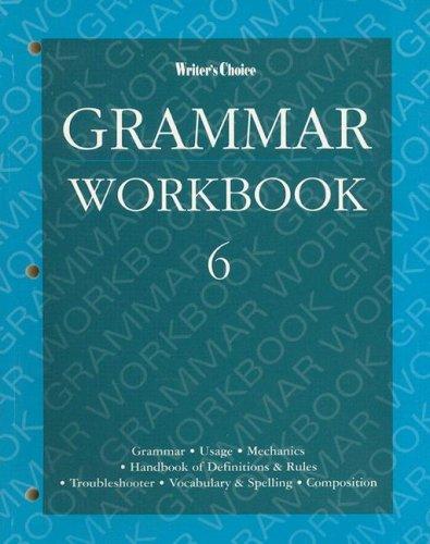 Grammar Workbook 6