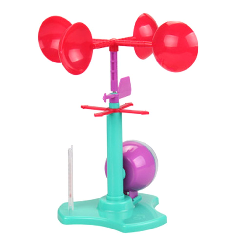 Windmaster Anemometer Science Expt Props Kids Children Student Learning Toys