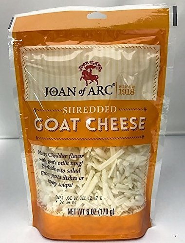 (JOAN OF ARC Shredded Goat Cheese, 6 OZ)