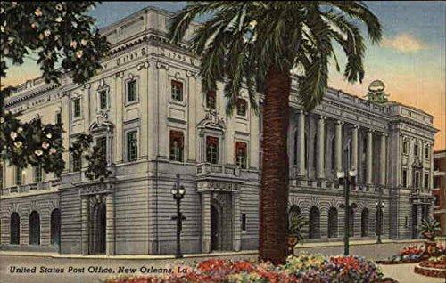 - United States Post Office New Orleans, Louisiana Original Vintage Postcard