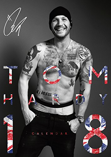 Tom Hardy 2018 Calendar (English, German and French Edition) by ML Publishing Group
