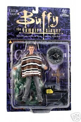 Variant - Moore - Fiesta Giles Action Figure - Buffy the Vampire Slayer - Anthony Stewart Head