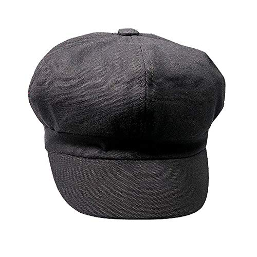 lf Driving Cool Octagonal Beanie Cap Beach Outdoor Sun Hat Valentine's Day Present Gift Black ()