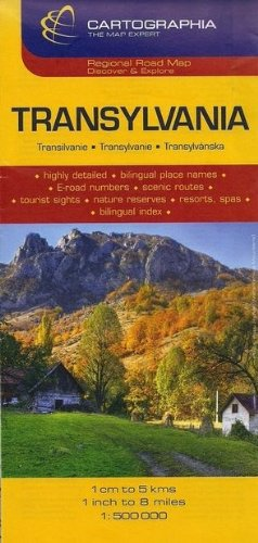 Transylvania Map by Cartographia (Travel Map)...
