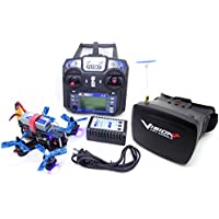 P130 FPV RTF Micro Racing Drone with Vision+ 5.8GHz Goggles System RTF
