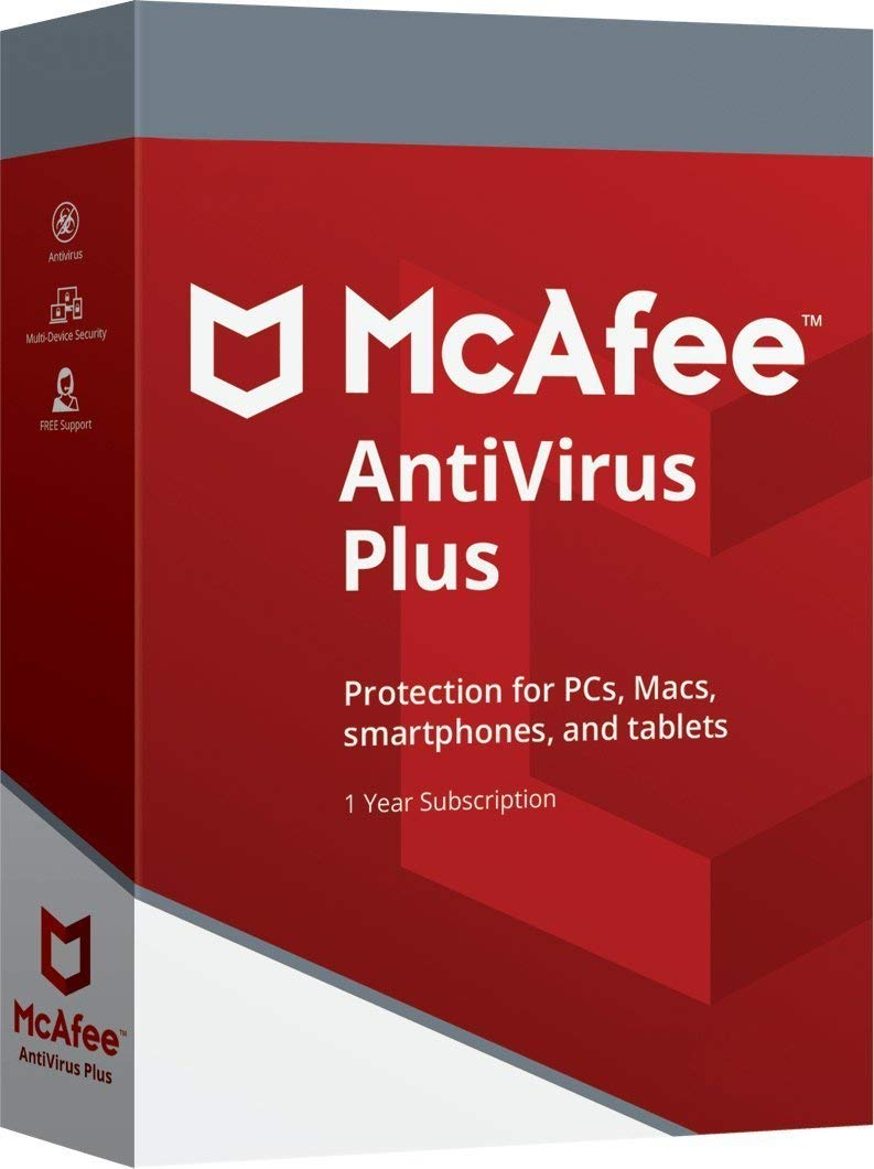 DOWNLOAD McAfee AntiVirus Plus 2019 | Ten Devices | 1 Year | All Windows 7,  8, 10, Android, Mac OS X and iOS Existing Customers IGNORE SHIPPING READ