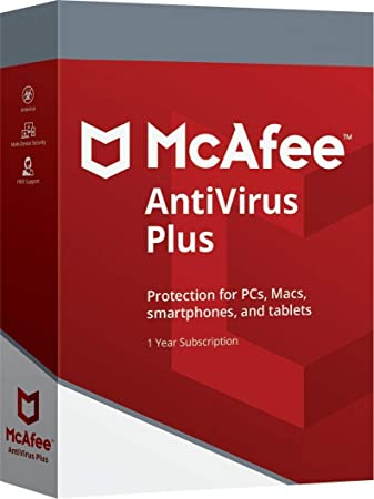 DOWNLOAD McAfee AntiVirus Plus 2019   Ten Devices   1 Year   All Windows 7,  8, 10, Android, Mac OS X and iOS Existing Customers IGNORE SHIPPING READ