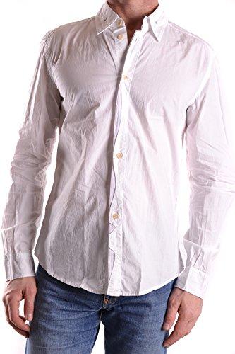 - MARITHÈ + FRANÇOIS GIRBAUD Men's Mcbi200016o White Cotton Shirt
