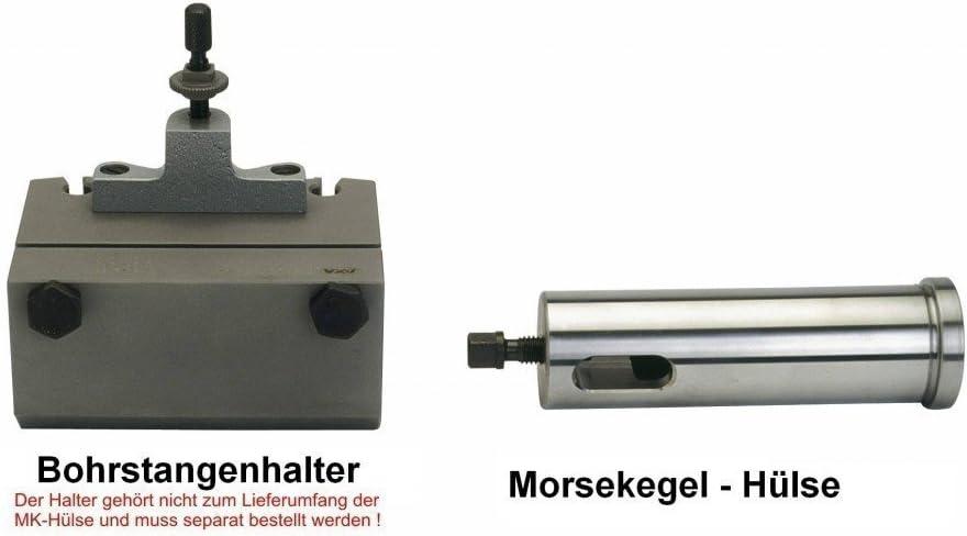 Morsekonus-H/ülse MK3 AXA Morsekegel-Huelse H33//40//MK4 MULTIFIX CL440 Made in Germany
