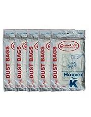 15 Hoover Type K Spirit Vacuum Bags, Canisters, Encore, Supremacy, Older Runabout Vacuum Cleaners,4010028K, 4010100K, H-4010100KES