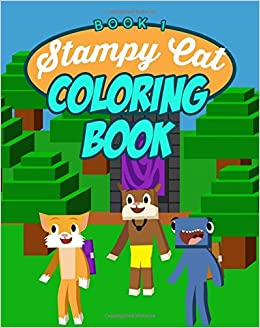 stampy cat coloring book unofficial minecraft coloring book ft youtubers stampylongnose iballisticsquid and lee stampys lovely diary companion - Minecraft Coloring Books