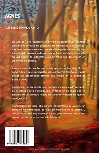 Agnes: Amazon.es: Tamurejo, Luis Pablo: Libros