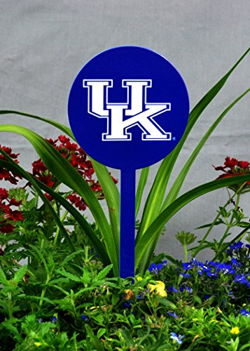 Authentic Street Signs NCAA Kentucky Wildcats Garden Decor - Decorative Metal Yard Stake, Indoor/Outdoor, Blue