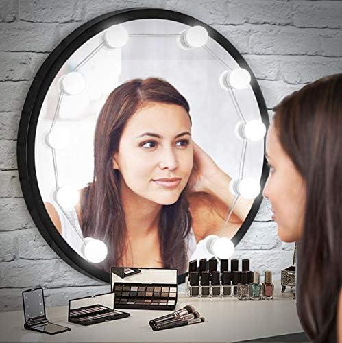 Popular Led Makeup Mirror Front Light Bulb (10 Pack) White 8W - 5V: Amazon.es: Iluminación