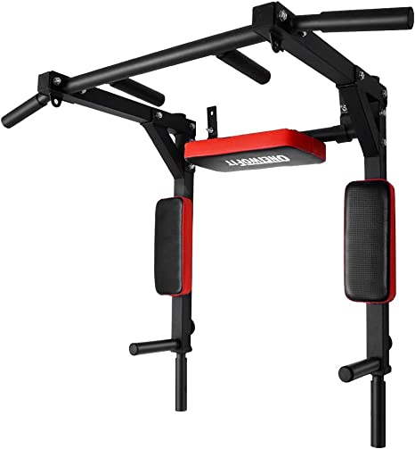 ONETWOFIT Multifunctional Wall Mounted Pull Up Bar / Chin Up Bar