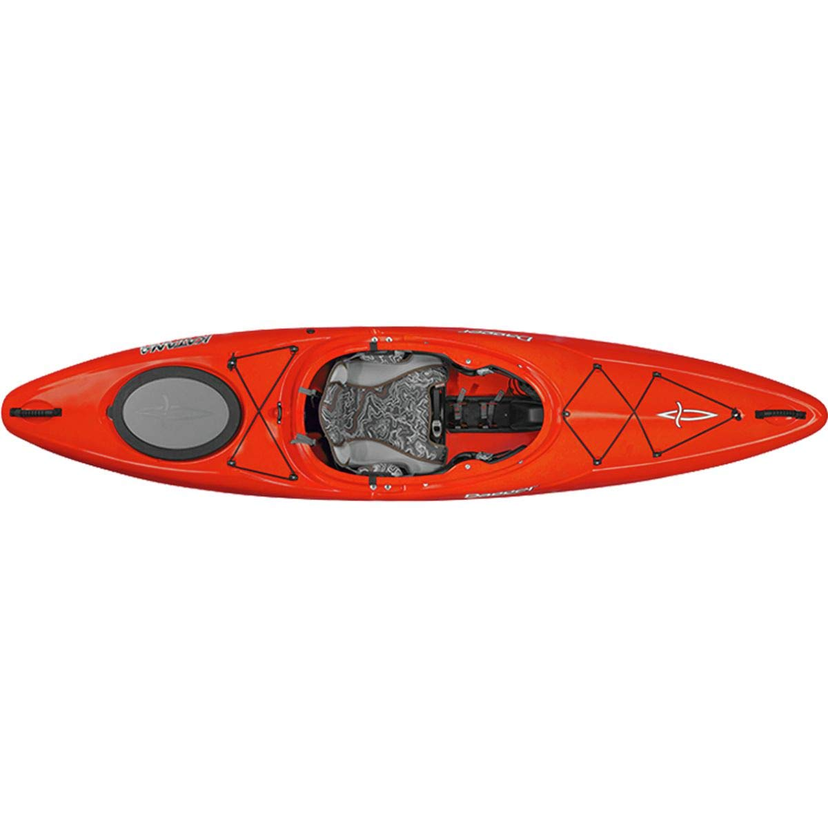 Dagger Katana Crossover Whitewater Kayak - 9.7, Red by Dagger