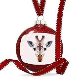 Christmas Decoration Geometric Animal art Giraffe Ornament
