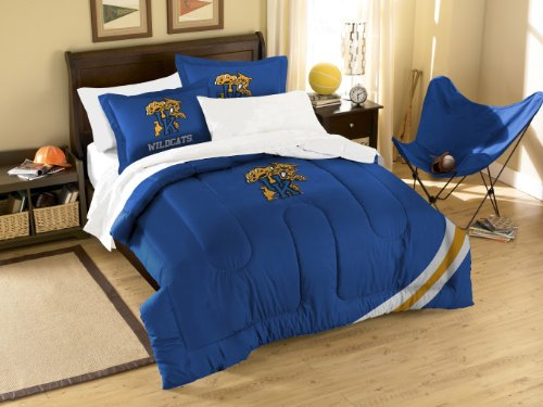 (NCAA Kentucky Wilcats Twin/Full Size Comforter with Sham Set)