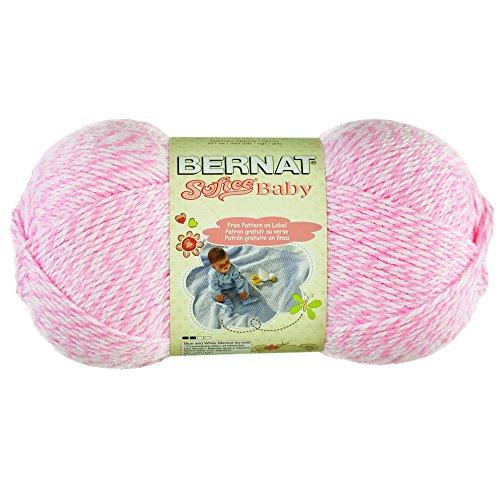 - Spinrite Softee Baby Solid Yarn - Baby Pink Marls