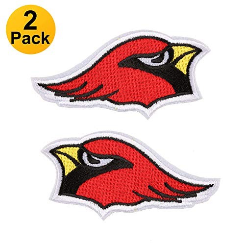 2-Pack NFL Arizona Cardinals,Patch, Iron On/Sew On - Appliques for Kids Children