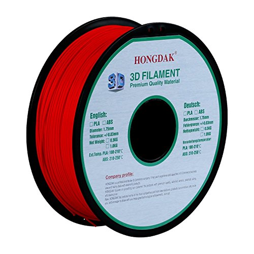 Printing Filament Dimensional Accuracy PLA 1000g 1 75mm RED product image