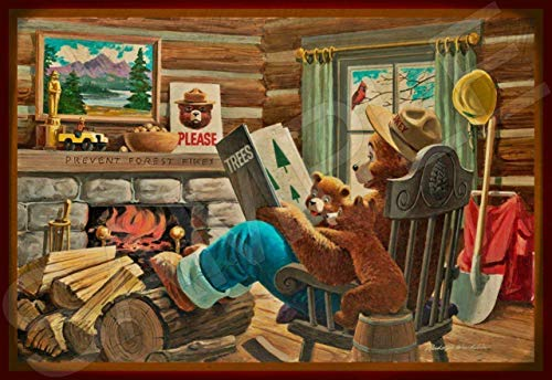 Buy smokey bear book sign