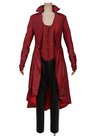 cosplayonsen captain america scarlet witch wanda django maximoff cosplay costume full set adult size men
