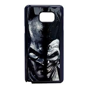 Funda Samsung Galaxy Note 5 caja del teléfono celular Funda Negro del ayudante B1X6WG arte
