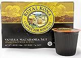 macadamia nuts single serving - Hawaiian Islands Royal Kona Vanilla Macadamia Coffee Single-Serve Pods (12 Pods) Freshness Guaranteed