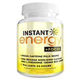 Instant Energy Focus Dietary Supplement, 60 Capsules