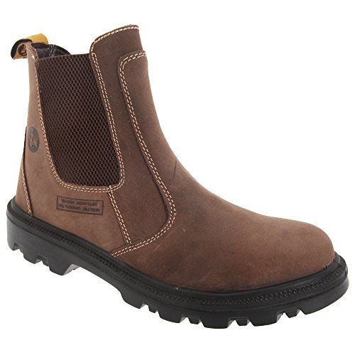 Amblers Safety FS131 Safety Dealer Boot Brown Size 6