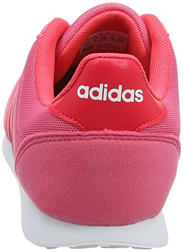 Adidas 0 White Baskets footwear shock Racer Pink V 2 Femme Red 0 Rose real 1Ox1qwr