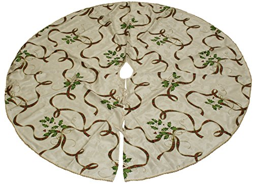 Lenox Holiday Nouveau Ribbon Tree Skirt (Lenox Holiday Ribbon)