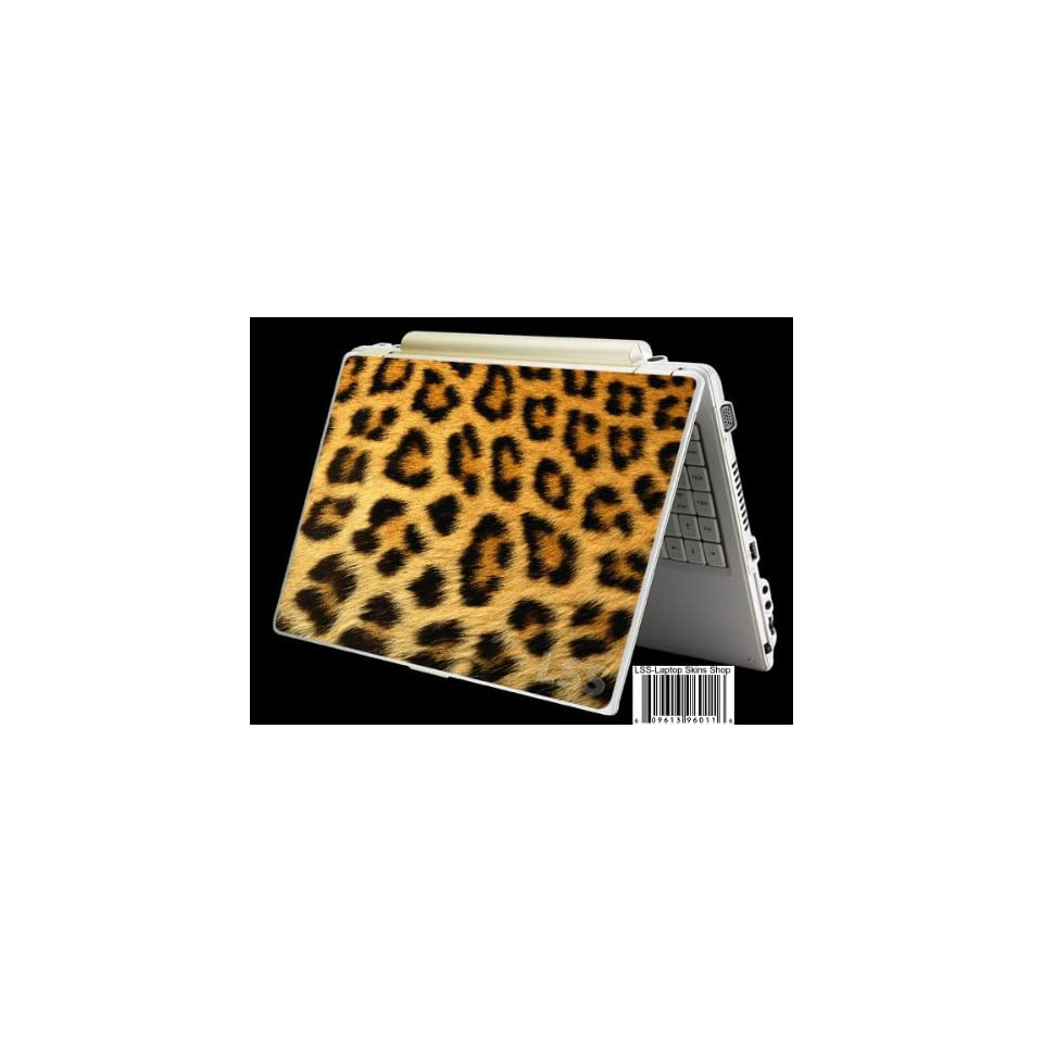 Laptop Skin Shop Laptop Notebook Skin Sticker Cover Art Decal Fits 13.3, 14, 15.6, 16 inches HP Dell Lenovo Asus Compaq (Free 2 Wrist Pad Included) Leopard Print