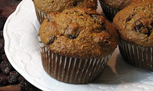 Whole Wheat Bran Muffins - Cinnamon Raisin Bran Just-Add-Water Muffin Mix