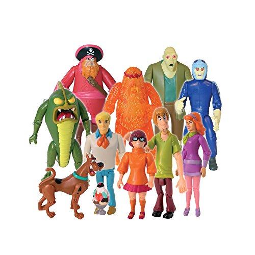 Scooby Doo Monster Set Action Figure, 10 Pack -