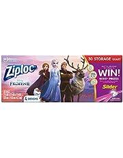 Ziploc Limited Edition Frozen Slider Quart Storage Bags