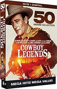 Cowboy Legends - 50 Movie MegaPack - DVD+Digital